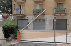 preventivo cancello scorrevole FAAC Napoli Quartiere Posillipo